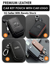 [GROUP BUY] Premium Leather Car Key Pouch / 4 Designs / Many Models / Suitable For Most Remote Key