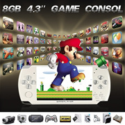 32 Bit 4.3Inch Screen Handheld Game Console Portable Video Game 1000+ Games Retro Megadrive