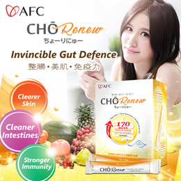 [2FOR $65]♥ CHO Renew ♥ Detox | Reduces Acne | Clearer Skin | Flatter Tummy
