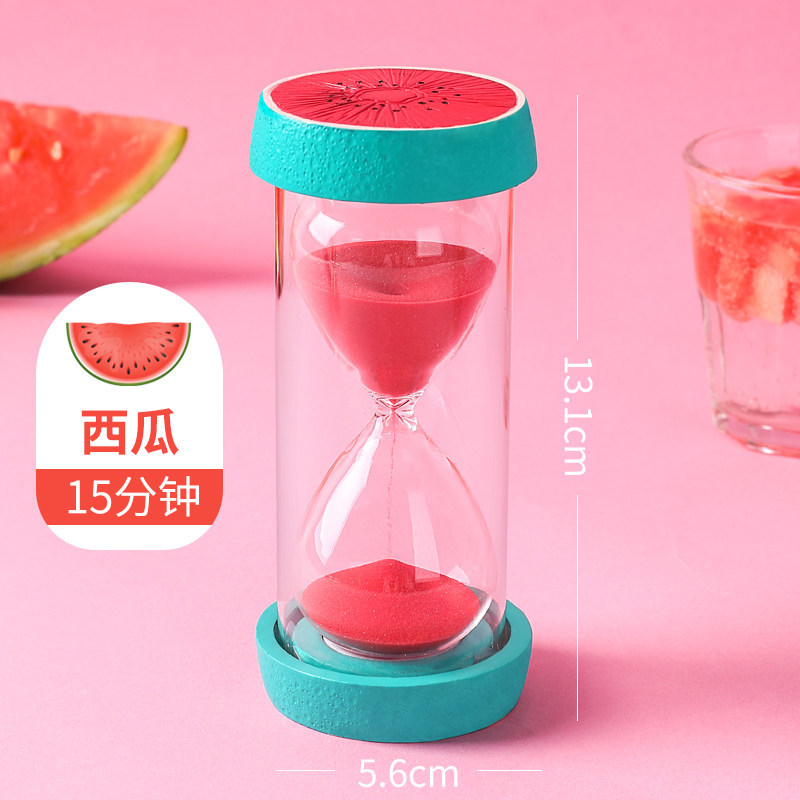 Hourglass timer children fall time 30 minutes set pieces creative home  decoration simple personality