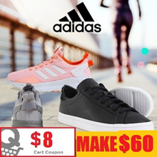 [ADIDAS]  ★Flat price★ 24 type shoes collection/ UNISEX  / running sheos / MEN / WOMEN / Qprime