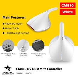 Deerma CM800 UV Sterilizers Anti-Dust Mites Remover UV-C Vacuum Cleaner For Bed Mattress Sofa