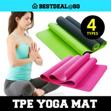 TPE Yoga Mat/ High Quality/ New Enhanced 6mm/8mm Eco-Friendly/ Antiskid Yoga Mat towel / Bricks