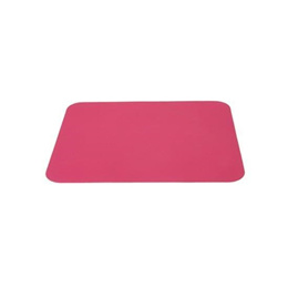 Super Thin Anti-slip Backing Silicone Mouse Pad (Pink)