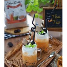 THAI RED TEA CHOLATTE PREMIUM POWDER DRINK BUBUK THAI RED TEA SJ0284