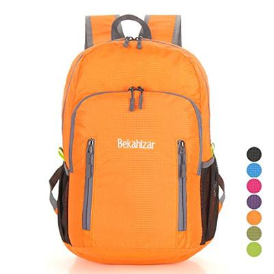 658466b7b39d Bekahizar Lightweight Foldable Backpack 20L Travel Day Backpack Water  Resistant Day Bag Packable Hik