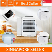 💖Local Seller💖Xiaomi Microhoo Mini Air Cooler Portable Fan Conditioner Water Cooling Fan