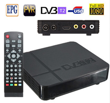 DVB-T2 Digital Terrestrial Receiver Set-top Box Smart Media Player Box Compatible with DVB-T for TV