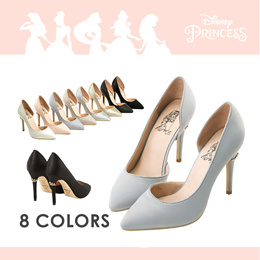 Gracegift-Disney Princess Aurora Crown Heels/Women/Ladies/Girls Shoes/Taiwan