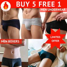 *NEW DESIGN*【BUY 5 FREE 1】Comfortable Mens Modal Underwear | Boxers Cooling Breathable Comfort