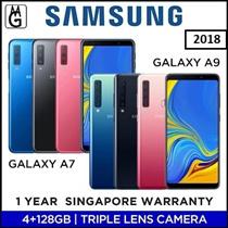 Samsung Galaxy A7 I A9 2018 / 4/6 GB RAM / 128GB ROM / Multiple Lens Local 1 Year Samsung Warranty