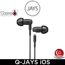 Jays Jays-Q iOS Headphone / Earphone / Local Set with Local Warranty