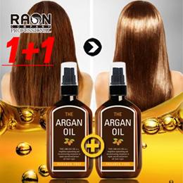 [1+1] RAON The Argan Hair Oil 100ml+100ml [Best in Korea] Magical Hair Theraphy / healthy hair/ silk