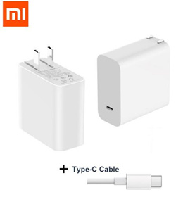 Xiaomi Mi USB-C 45W Charger Output Type-C Port USB PD 2.0 QC 3.0 Quick Charge+Type C cable