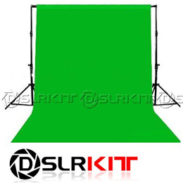 Photo lighting studio Chromakey green screen Muslin background backdrop 1.8X2.8M