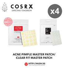 COSRX Acne Pimple Master Patch 24 Patches X 4 l COSRX Clear Fit Master Patch 18 Patches X 4