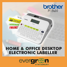 Brother PT-D400/ PT-D400AD Office Desktop Electronic Labelling Machine