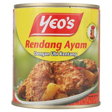 [ Halal Certification ] Yeo s Chicken Rendang with Potatoes 280g