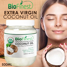 ★USA Extra Virgin Coconut Oil (500ml) ★ USDA Certified Organic - Cold-Pressed Unrefined