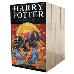 【8 Books Set】Harry Potter English Novel Fiction Story Books UK Edition