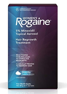 Women/Men Rogaine Foam Hair Regrowth Treatment 4 Month Supply