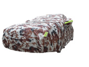 [DARK CLOUD] ★ OXFORD CAMOUFLAGE ★ EXTRA STRONG CAR /VEHICLE COVER ✔ZIP ✔BELT LOCK ✔RETRO-REFLECTIVE