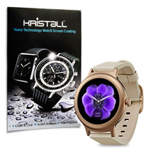 LG Smart Watch Style Screen Protector - Kristall® 9H Hardness Full Coverage Liquid Nano Coating