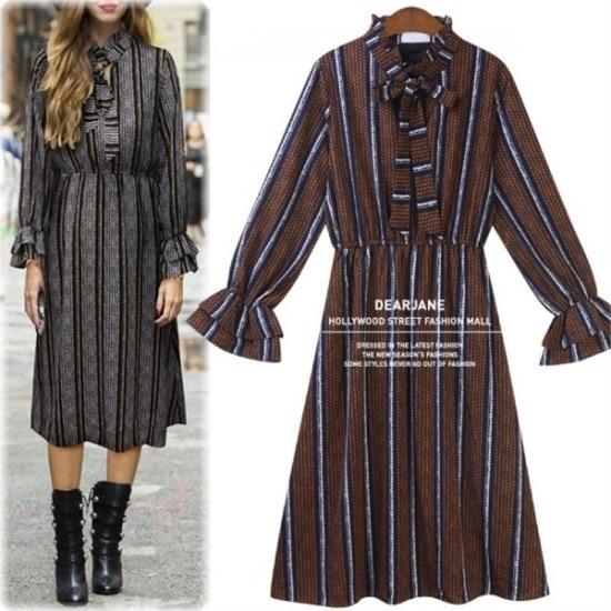 アデンOP1883チビバルーン・小売ワンピース 綿ワンピース/ 韓国ファッション