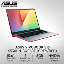 ASUS VivoBook S15 S530UN-BQ069T/15.6/ Intel® Core™ i7-8550U /GDDR5 2GB/2 Year International
