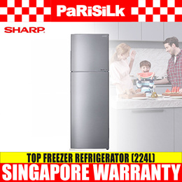 Sharp SJ-RX30E-SL Top Freezer Refrigerator (224L)