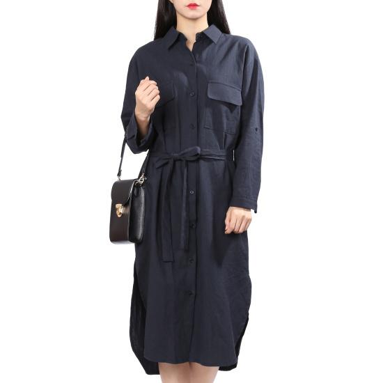 ラブLAPリンネンワンピースAH7XXW70 面ワンピース/ 韓国ファッション