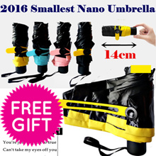 {Nano / Magical / Reverse Umbrella} SMALLEST LIGHTEST (Stock Clearance) NO ADD-ON COST!! FREE GIFT!!