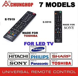 Chunghop Universal LED/HDTV Remote Control E-P912|E-H918|E-L905|E-P914|E-S916|E-S903|E-S915|E-T919