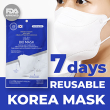 BMT BIO MASK, Korean Mask, Bacteria resistant, Anti-odor, Blocks off hazardous substanc