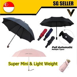 Flash Deal | Premier Full Automatic umbrella /uv400/ mini size/ manual /best seller seen on tv big sizes