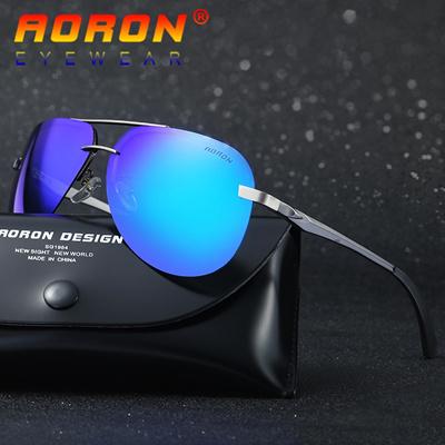 df9c54f888 authentic Aoron Brand Designer Driving Polarized Sunglasses Goggles Reduce  Glare Classic Sun Glasses