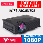 🌟WIFI PROJECTOR UC46+/ Android WIFI RD805🌟the cheapest 1080P portable