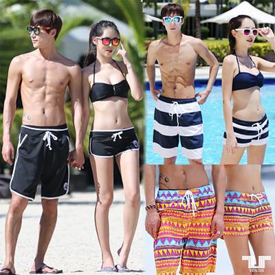 56e97bca12 Qoo10 - ☆VENDIS☆COUPLE BEACH PANTS☆ swimming Trunks Beach wear ...