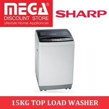SHARP ESX156 15KG TOP LOAD WASHER / WASHING MACHINE / LOCAL WARRANTY