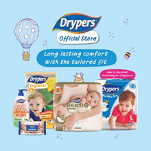 [Official Store] Drypers Wee Wee Dry Singapore Exclusive / Drypantz/ Touch Diapers/ Tape/ Pants