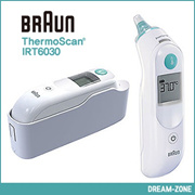 ★Braun★ ThermoScan 5 IRT-6030 Baby/Adult Professional Digital Ear Thermometer