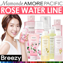 BREEZY ★ No Water! We Use Rose Water 90.89% [MAMONDE] Rose Water Toner 250ml / 500ml /Bubble Foam /