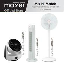 *Buy 1 Free 1* Mistral MSF047 Stand Fan / Mistral MFD300 Tower Fan / Mistral MHV53 Velocity Fan