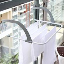 Hanger Balkon Rak Jemuran Baju Rumah Outdoor Serbaguna Apartemen Multi Fungsi