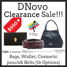 [Use Qoo10 coupon] DNovo Clearance Sale!!! (Available In 16 Options)