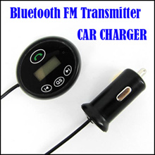 Bluetooth FM Transmitter CAR CHARGER for iPad iPhone iPod Samsung HTC MP3 GPS