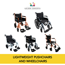 ◀ THE GOLDEN CONCEPTS ► HappyWheels | Pushchair | Wheelchair ★Compact★Lightweight★Free Delivery