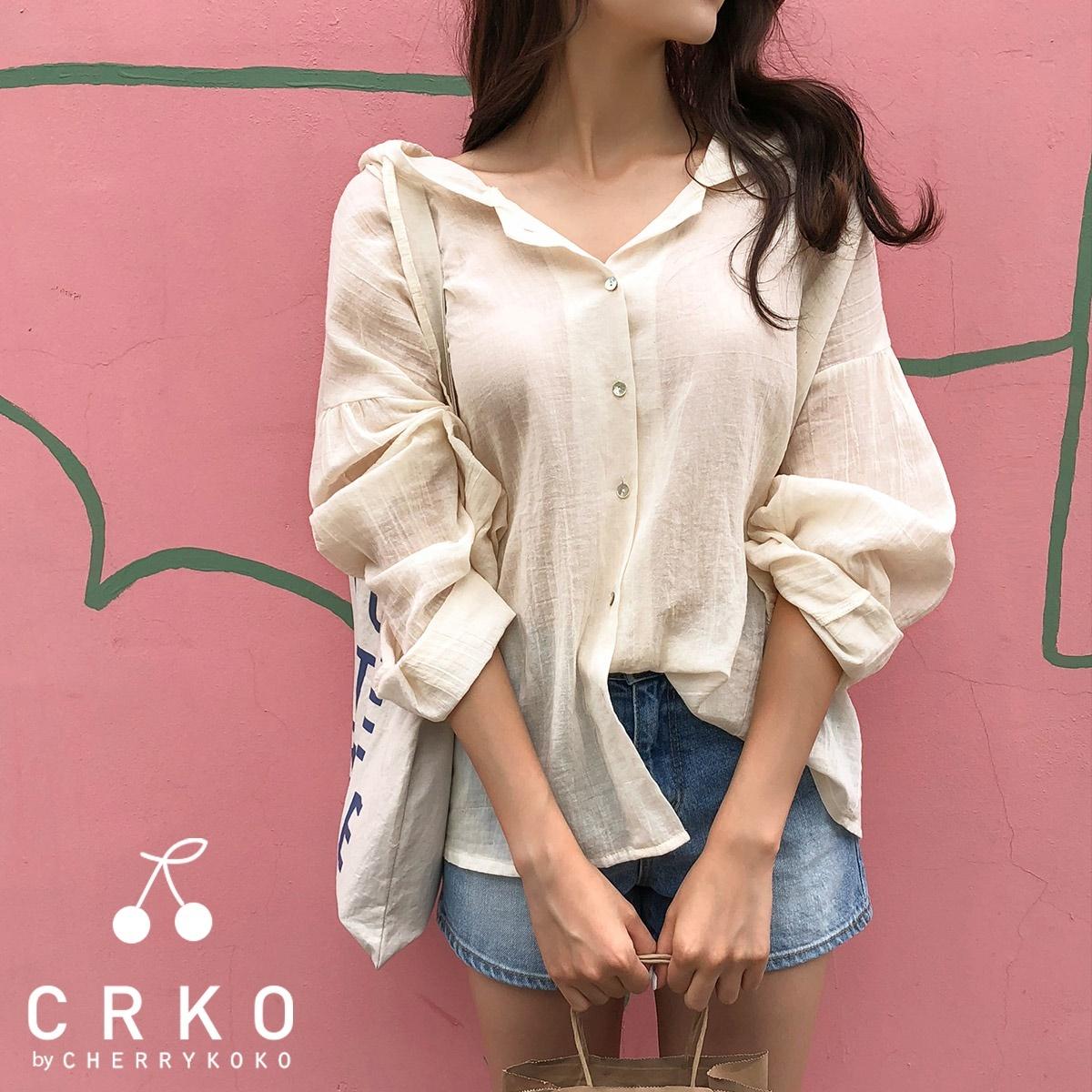 [CHERRYKOKO官方旗艦店] 寬版棉製外套 / yummy hood cardigan