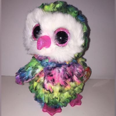 8adffe8ff6b Qoo10 - Owen Rainbow Owl Beanie Boo Medium 13 inch - Stuffed Animal by Ty  37143 Search Results   (Q·Ranking): Items now on sale at qoo10.sg