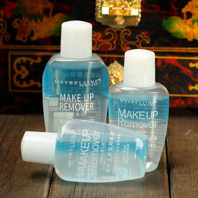 66 bags of 2 bottles of Maybelline eye lip makeup remover 40ml